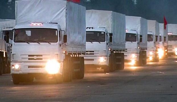 Rusyadan Ukraynaya yardım konvoyu