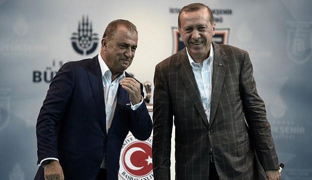 Erdoğan, Fatih Terime sahip çıktı