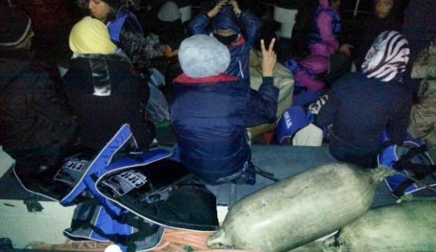 27 kaçak göçmen yakalandı