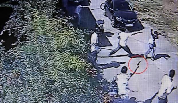 3 kişinin öldürülme anı güvenlik kamerasında