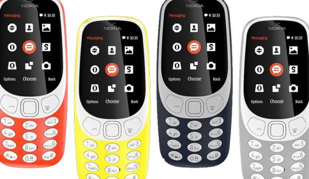 Nokianın 3310 modeli geri döndü