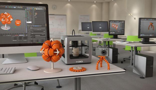 Türkiyenin ilk 3D Yazıcı Araştırma ve Uygulama Merkezi Projesi