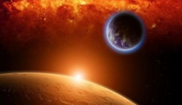Marsı ilk kez böyle gördük!