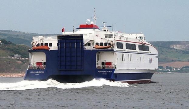 İstanbulda deniz otobüsü seferi iptalleri