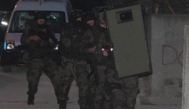 600 Polisle dev operasyon