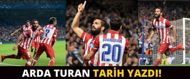 Arda Turan tarih yazdı!
