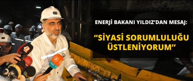 Enerji Bakanı Yıldız: ''Soma'da siyasi sorumlu aranıyorsa...''