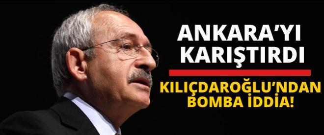 Kılıçdaroğlu öyle bir iddia ortaya attı ki!