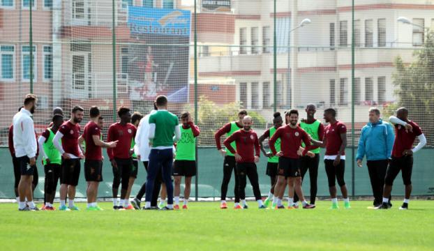 Aytemiz Alanyasporda Medipol Başakşehir maçı hazırlıkları