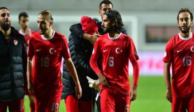 A Milli Futbol Takımı Kosovada