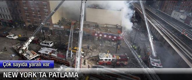 New York'ta patlama: 2 ölü, 17 yaralı