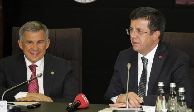Tataristan Cumhurbaşkanı Minnihanov Türkiyede