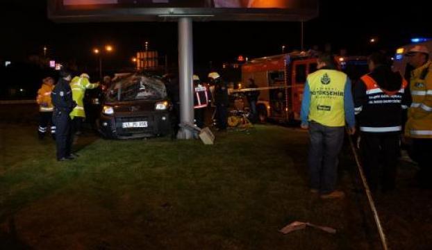 Eyüpteki kazada yaralanan şahıs hayatını kaybetti