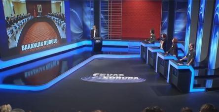 Türk televizyon tarihinde ilk kez