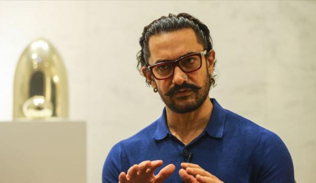 Hint sinemasının ünlü aktörü Aamir Khan, yeni filmi için Türkiye'ye geliyor