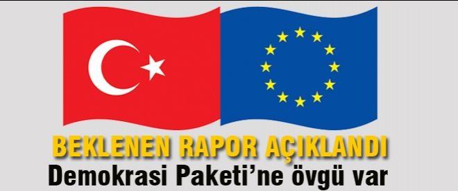 AB Türkiye İlerleme Raporu'nu yayınladı