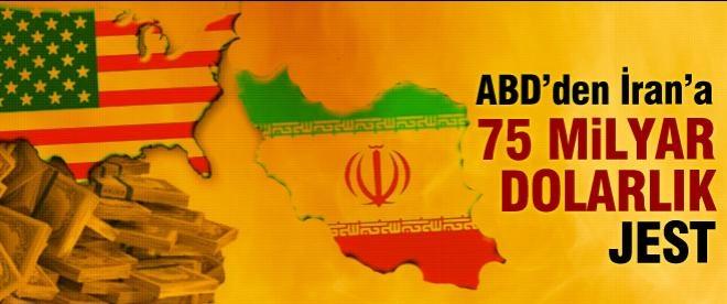 ABD'den İran'a 75 milyar dolarlık jest