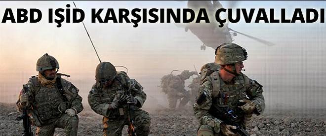 ABD, IŞİD karşısında çuvalladı!