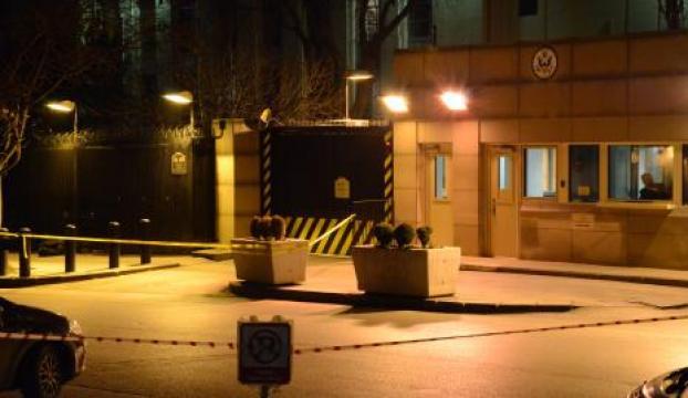 ABD Büyükelçiliği önünde şüpheli çanta paniği