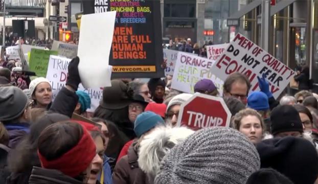 ABDde kadınlardan Trump karşıtı gösteriler