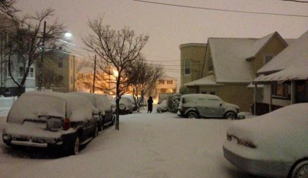 ABD kar fırtınası: 5 eyalette acil durum