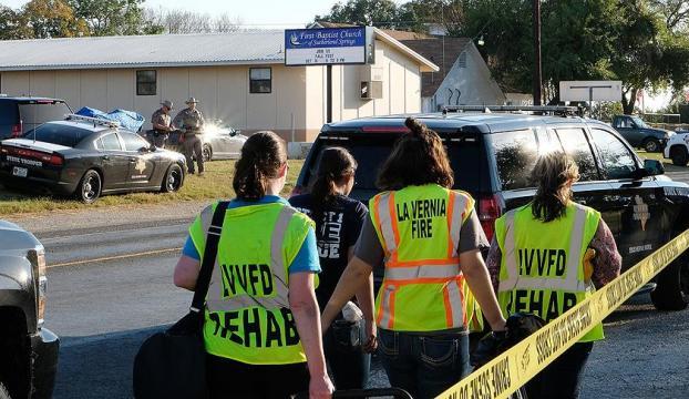 ABDde kiliseye saldırı : 26 ölü 20 yaralı