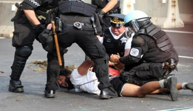 ABDde polis şiddeti