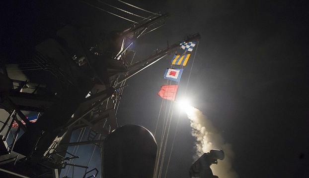 ABDden Suriyeye füze saldırısı!
