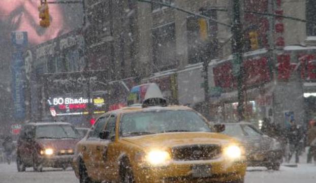 """THYden """"Amerika"""" yolcularına kar fırtınası uyarısı"""