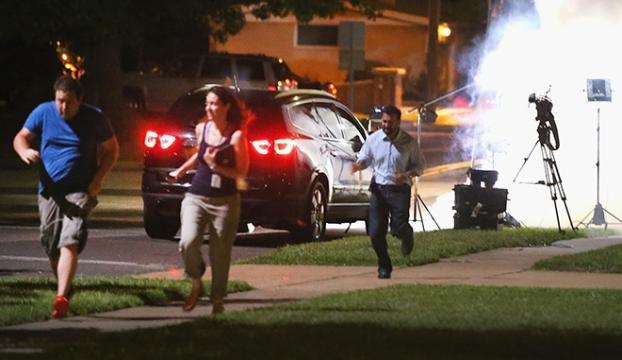 AA muhabirine silah doğrultan polis açığa alındı