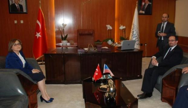ABDli Büyükelçi Gaziantepte