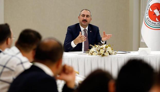 Adalet Bakanı Gülden af teklifi açıklaması