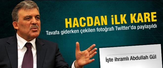 Cumhurbaşkanı Abdullah Gül ihrama girdi
