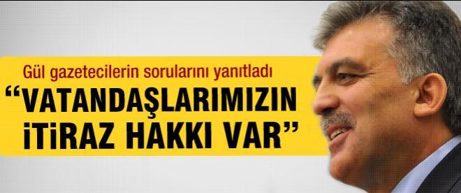 Cumhurbaşkanı Gül'den Balyoz davası açıklaması