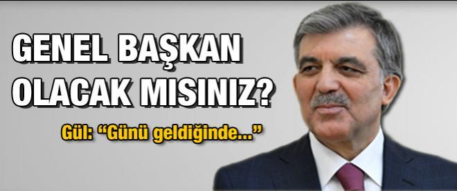 Abdullah Gül AK Parti'nin başına geçecek mi?