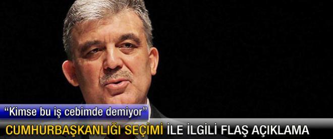 """Abdullah Gül: """"Başbakan ile yakında konuşacağız"""""""