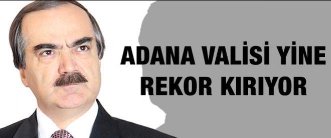Adana Valisi Coş 'Yılın Valisi' Olma Yolunda