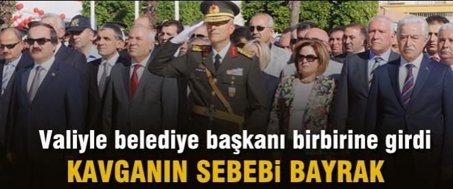 Adana valisi ile Belediye başkanı kavga etti