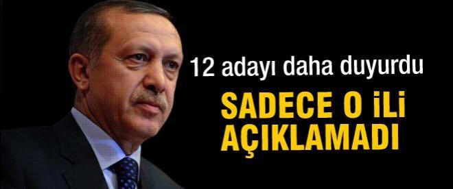 Erdoğan bir tek bu ili açıklamayacak