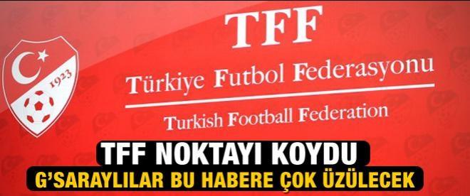 TFF'den AB statüsü açıklaması!