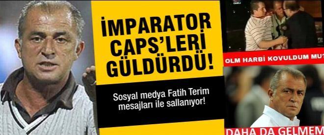Sosyal medyada Fatih Terim depremi