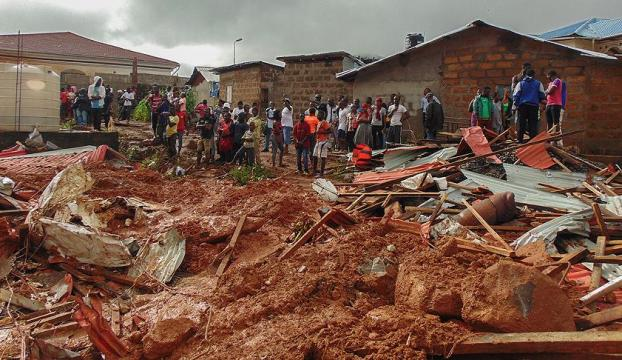 Sierra Leone için dünyaya yardım çağrısı