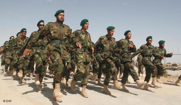Afgan ordusu her geçen gün güçleniyor