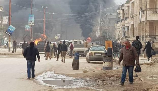 Afrinde terör saldırısı: 8 ölü, 14 yaralı