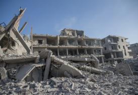 Afrin'de terör örgütünün tuzakladığı binada patlama: 11 ölü
