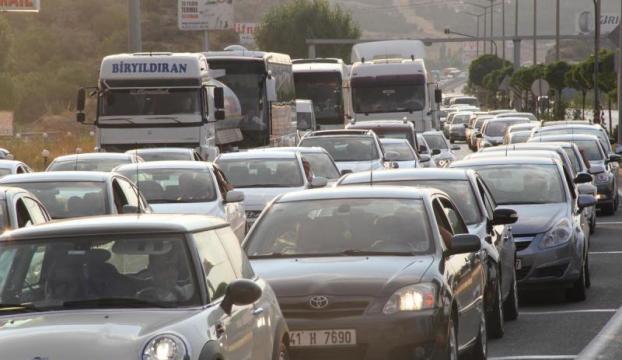 Trafiğe kayıtlı araç sayısı 18,5 milyona yaklaştı