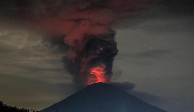 Agung Yanardağında volkanik hareketlilik arttı