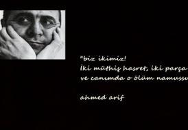 """Hasretin şairi: Ahmed Arif"""