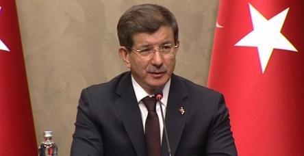 """testDavutoğlu'ndan """"çözüm süreci"""" değerlendirmesi"""