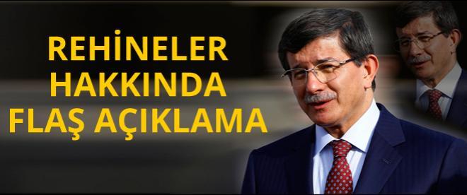 Ahmet Davutoğlu'ndan açıklama